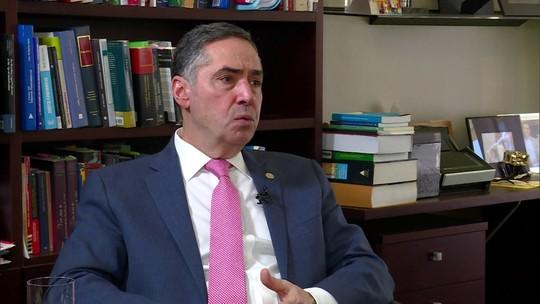 Andréia Sadi entrevista o ministro do STF Luís Roberto Barroso