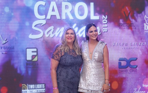 Marly e Carol Sampaio