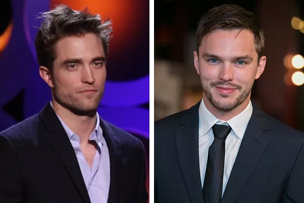 Robert Pattinson e Nicholas Hoult (Foto: Getty Images)