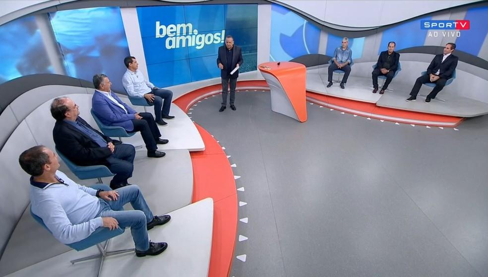 """""""Bem, Amigos!"""" vai ao ar às segundas-feiras, a partir das 22h, no SporTV (Foto: Reprodução/SporTV)"""