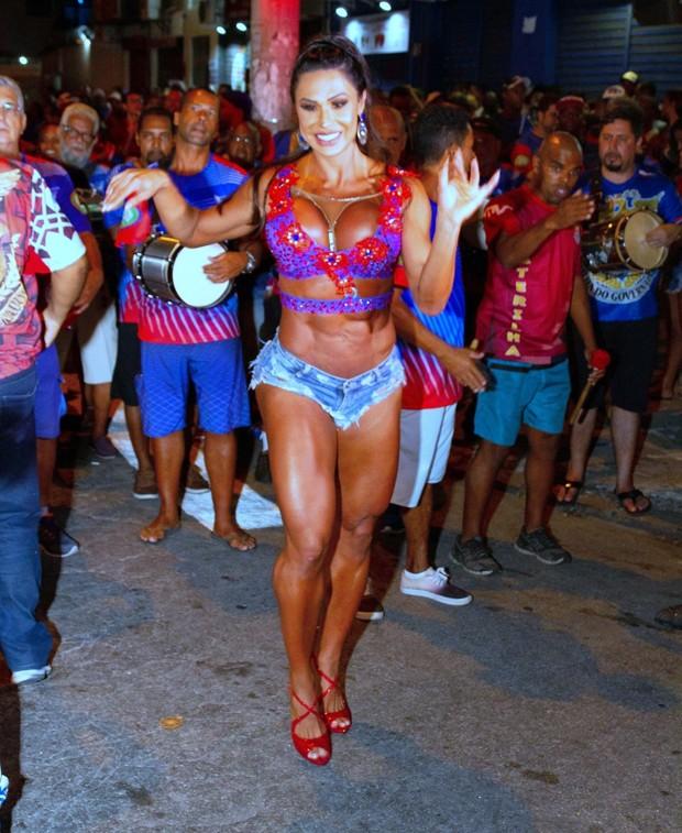 Gracyanne Barbosa (Foto: Mauricio Pingo / AgNews)