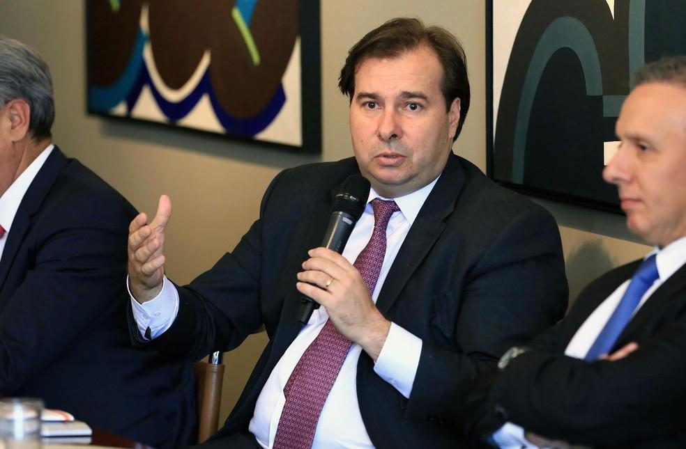 O presidente da Câmara, Rodrigo Maia (DEM-RJ) — Foto: Alex Ferreira / Agência Brasil