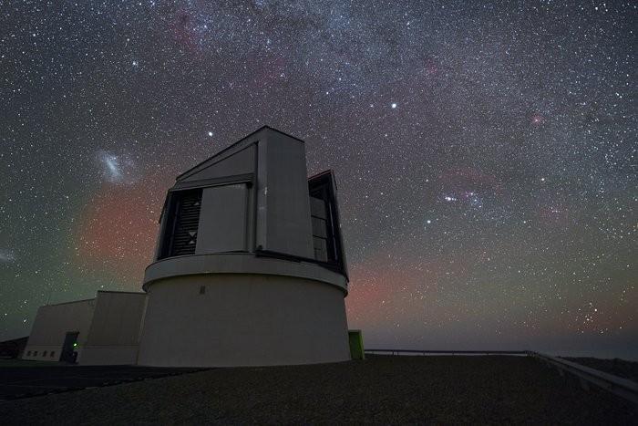 Observatório Paranal, no Chile, é parte da estrutura do ESO.  (Foto: Divulgação / ESO)