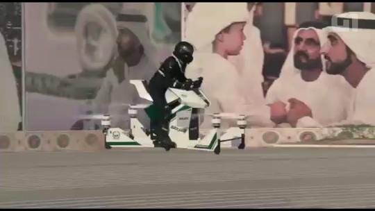 Polícia de Dubai terá 'moto voadora' para patrulha