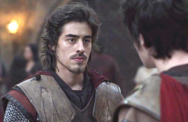 Tiago (Vinícius Redd) irá se tornar chefe da guarda de Montemor (Foto: Reprodução)