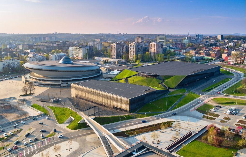 Centro de Convenções de Katowice, Polônia, onde será realizada a COP-23 (Foto: Divulgação / UNFCCC)