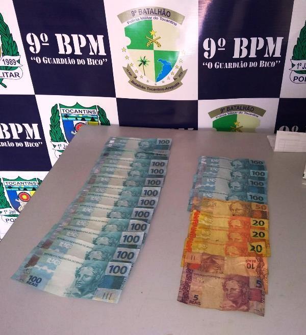 Dois são presos com mais de R$ 1 mil em notas falsas após compra em comércio