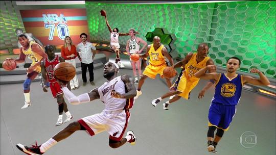 NBA70: rivalidade LeBron-Curry impulsiona crescimento da liga