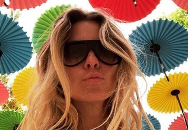 Carolina Dieckmann passeia em Tel Aviv, em Israel (Foto: Reprodução/Instagram)