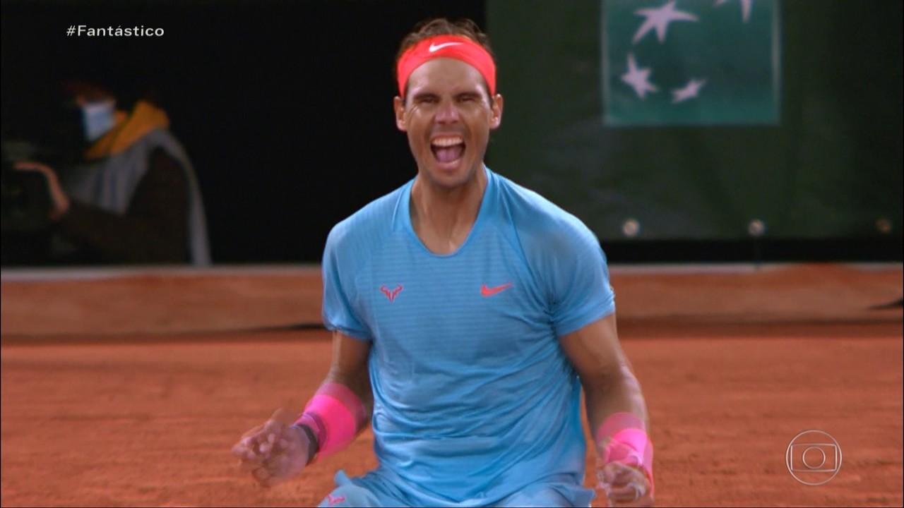 Nadal vence em Roland Garros pela 13ª vez