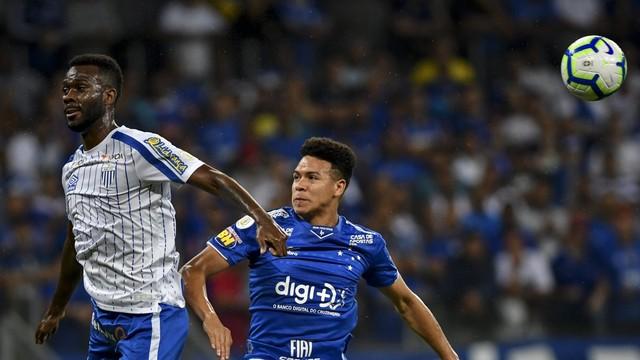 Cruzeiro; Avaí; Marquinhos Gabriel