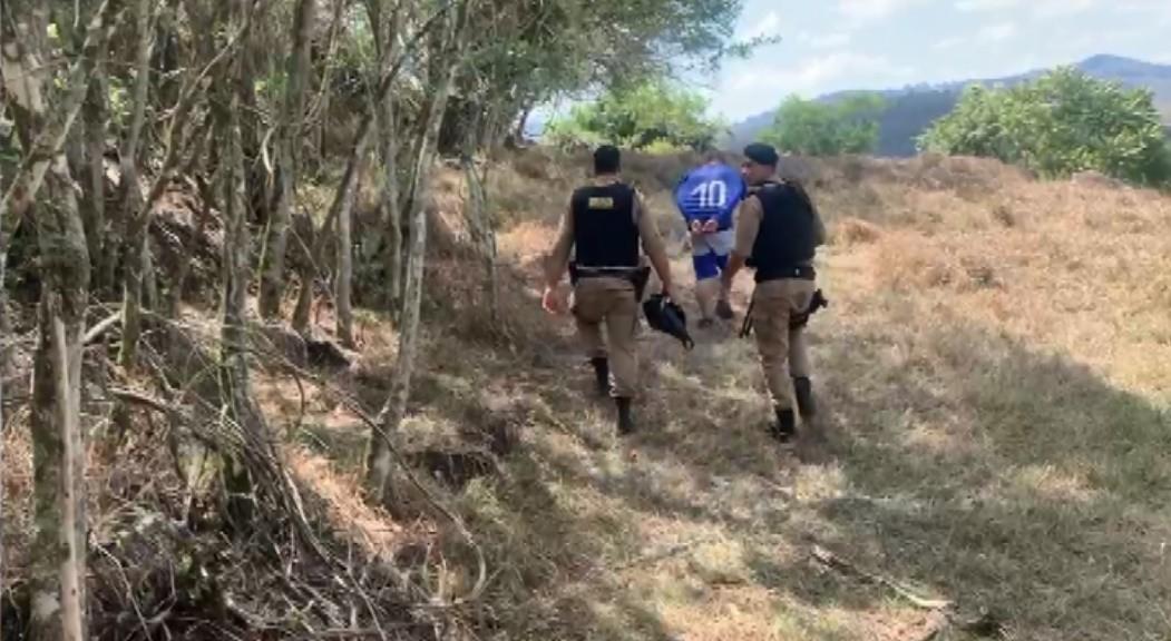 Suspeito de maus-tratos contra criança de três anos é preso em acampamento na BR-453
