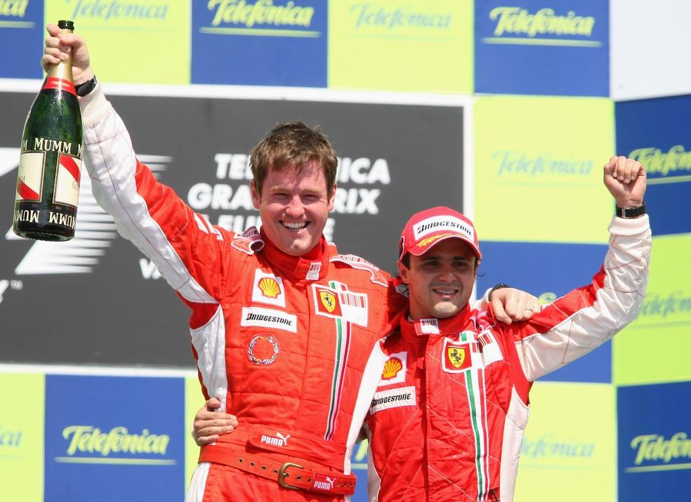 Rob Smedley e Felipe Massa se conhecem desde os tempos de Ferrari (Foto: Mark Thompson/Getty Images)