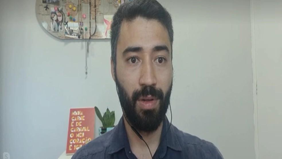 O médico infectologista Bruno Ishigami alertou para os altos índices de morte por Covid-19 em Pernambuco — Foto: Reprodução/TV Globo