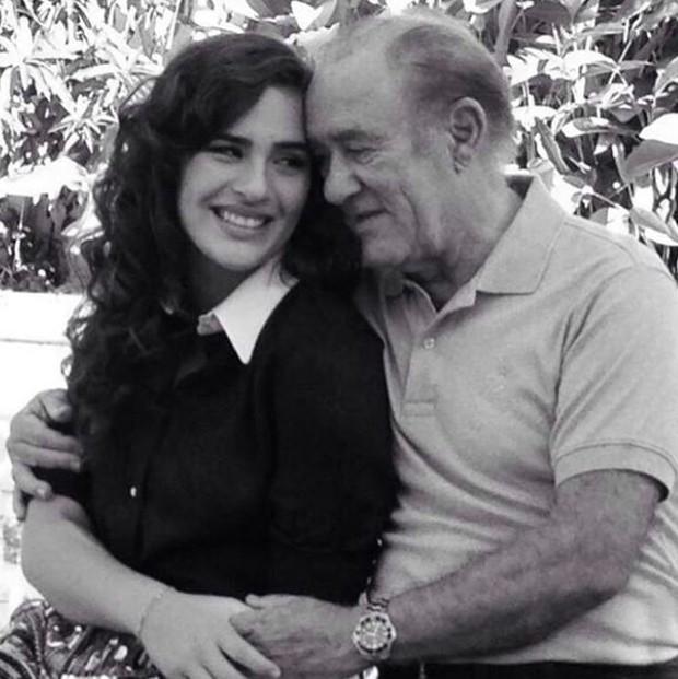 Livian e Renato Aragão (Foto: Reprodução/Instagram)