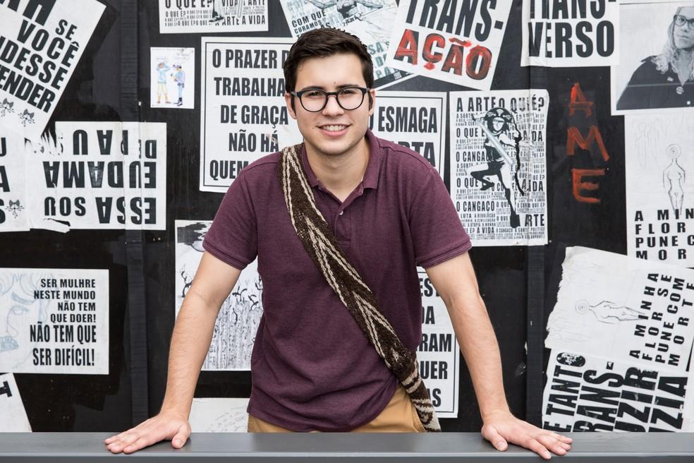 Daniel nasceu na Colômbia, fez graduação nos Estados Unidos e agora está no Brasil (Foto: Celso Tavares/ G1)