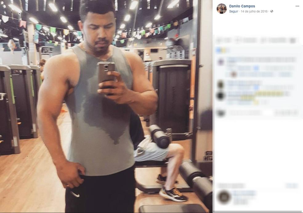 -  Danilo Nascimento de Souza Campos, de 28 anos, foi assassinado a tiros em Cuiabá  Foto: Facebook/Reprodução