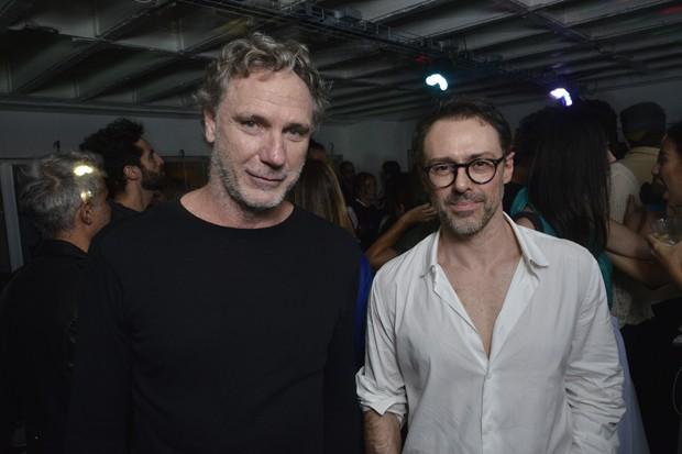 Oskar Metsavaht e Nelson Camargo (Foto: João Sal)