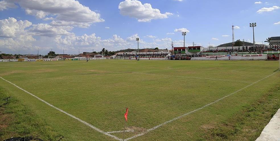 Estádio Edson Matias, em Olho d´Água das Flores — Foto: Ailton Cruz/ Gazeta de Alagoas