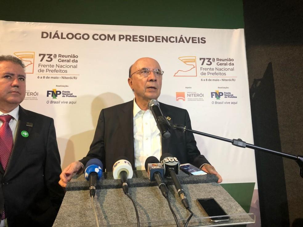Henrique Meirelles (Foto: Matheus Rodrigues/G1)