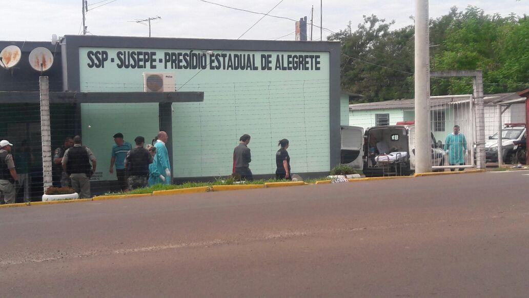 Detento suspeito de balear outro preso é morto durante briga no Presídio de Alegrete
