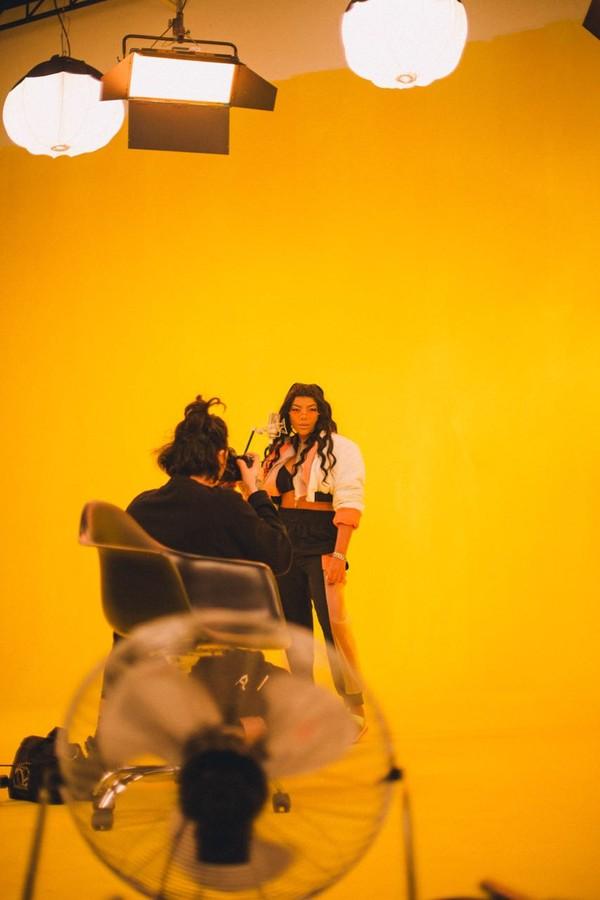 Ludmilla grava novo clipe (Foto: Divulgação)