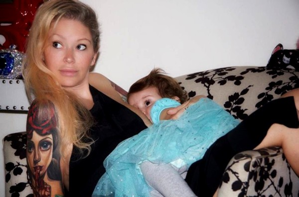 Jenna Jameson e a filha Batel Lu (Foto: Instagram)