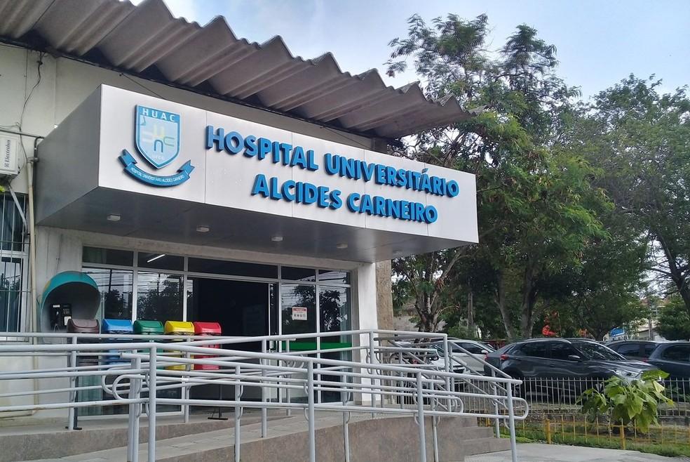 Hospital Universitário Alcides Carneiro (HUAC), da Universidade Federal de Campina Grande (UFCG) — Foto: Angélica Lúcio/HUAC