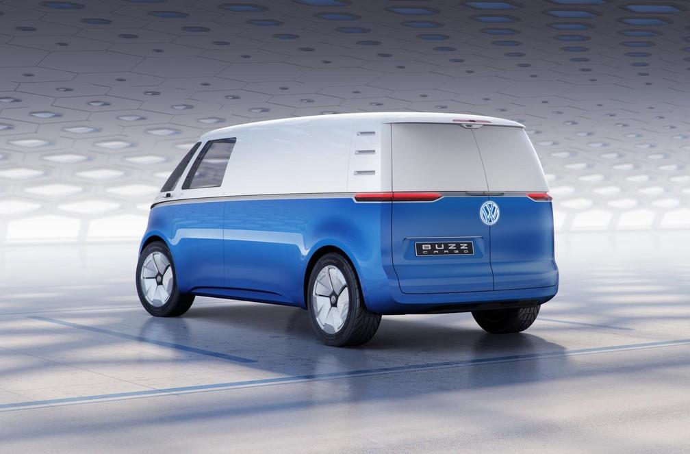 Volkswagen ID Buzz Cargo — Foto: Divulgação