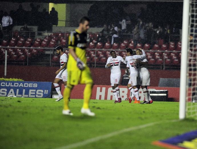 São Paulo x Flamengo (Foto: Marcos Ribolli)
