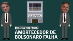 Amortecedor de Bolsonaro falha na primeira trepidação