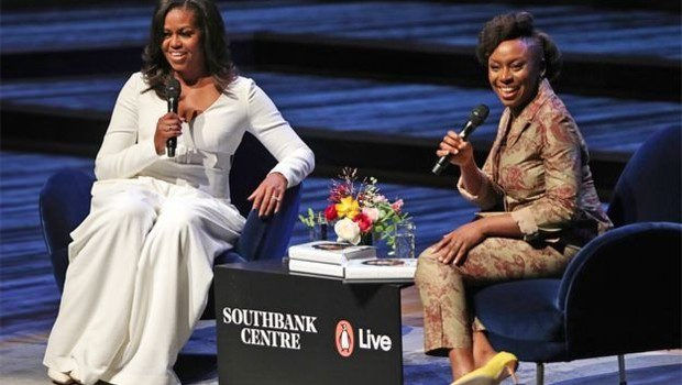 Michelle Obama diz ter superado problemas de autoconfiança com trabalho duro e persistência (Foto: PA via BBC)