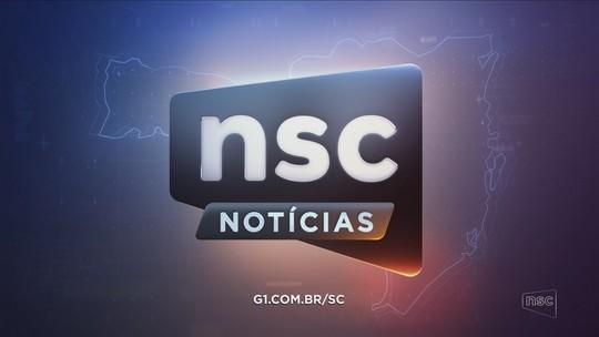Confira a íntegra do 1º NSC Notícias exibido nesta quarta-feira
