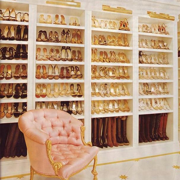 Closet de Mariah Carey (Foto: Instagram/Reprodução)