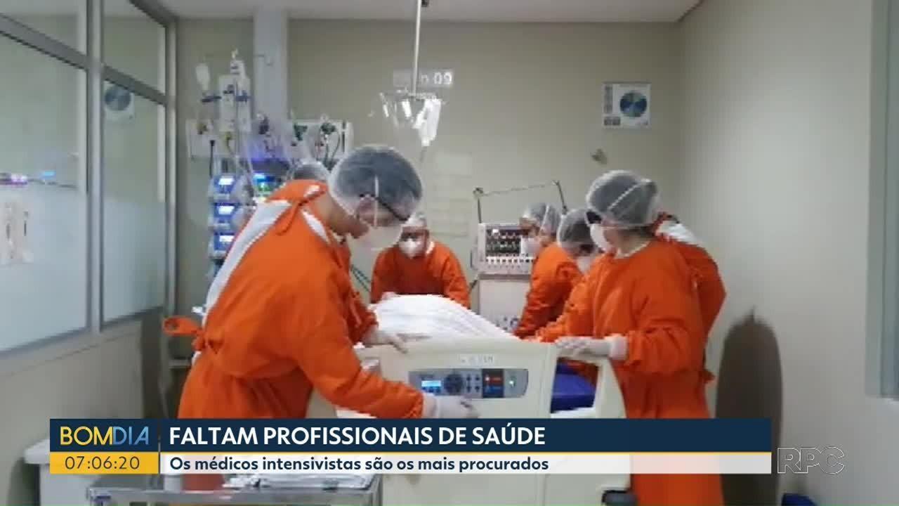Hospitais e municípios encontram dificuldades para contratar profissionais de saúde