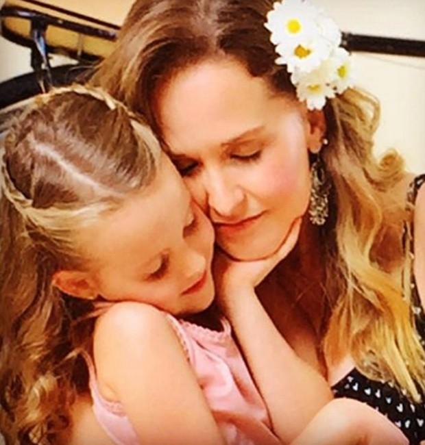 Fernanda Rodrigues e a filha, Luísa (Foto: Reprodução/Instagram)