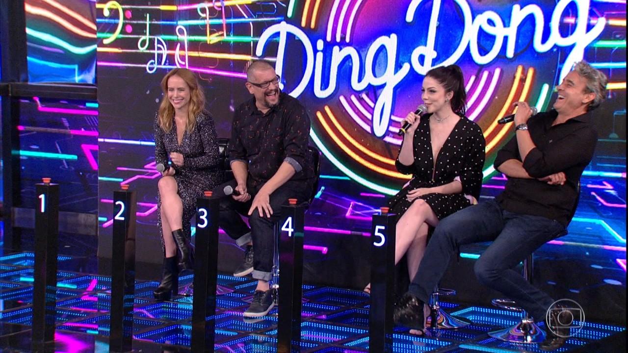 Ding Dong recebe Alexandre Borges, Bia Arantes, Marcello Airoldi e Fernanda Nobre
