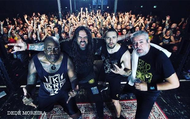 Sepultura (Foto: Dedé Moreira/Reprodução/Instagram)