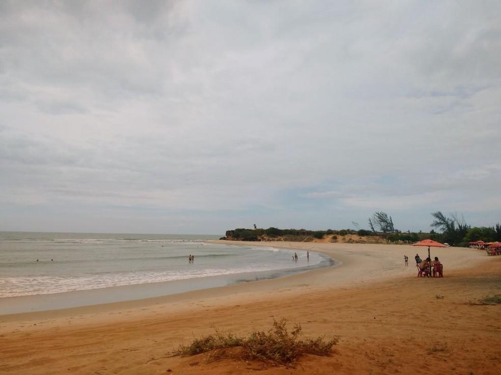 Foto produzida em outubro de 2017 na Praia de Tourinho, que fica em São Miguel do Gostoso, RN (Foto: Rafael Barbosa/G1)