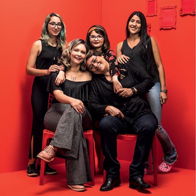Retrato da Moderna Família Brasileira (Foto: Eduardo Svezia)