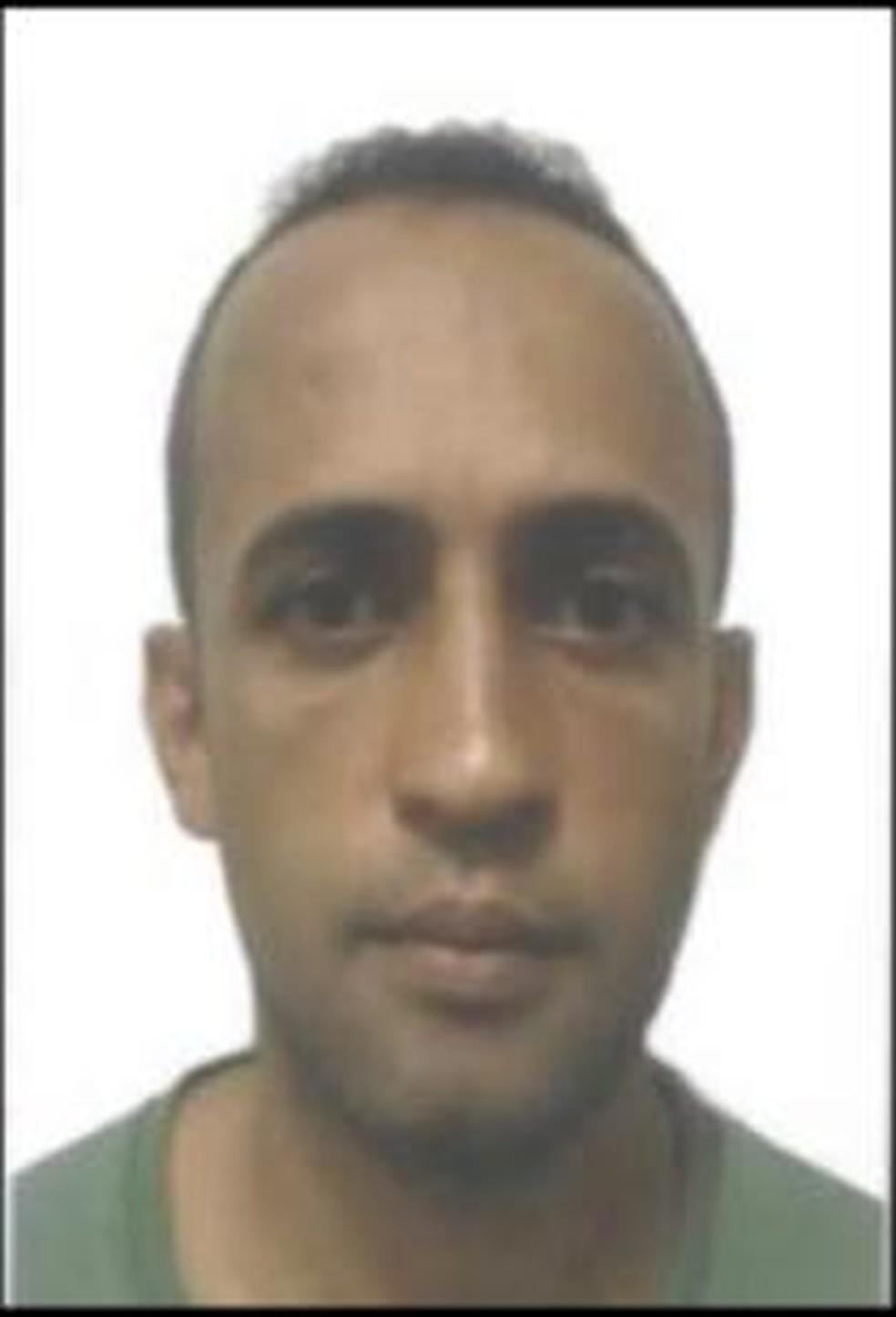 Wellington Cláudio Lucente, o Jiló, teve o celular apreendido. Apreensão ajudou nas investigações — Foto: Divulgação/Polícia Civil