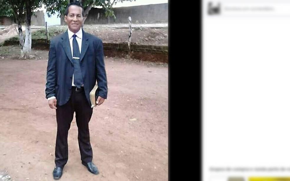 Glei Sales Braga, de 38 anos, foi assassinado pelo enteado, segundo a polícia (Foto: Facebook/Reprodução)