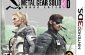 Metal Gear Solid: Snake Eater 3D