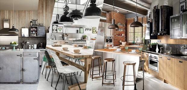 Resultado de imagem para cozinhas estilo industrial vogue