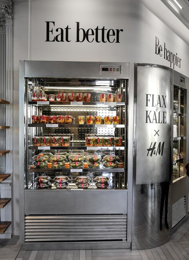 FLAX & KALE à Porter, em Barcelona (Foto: Divulgação)
