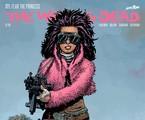 Princesa na capa da HQ de 'The walking dead' | Reprodução