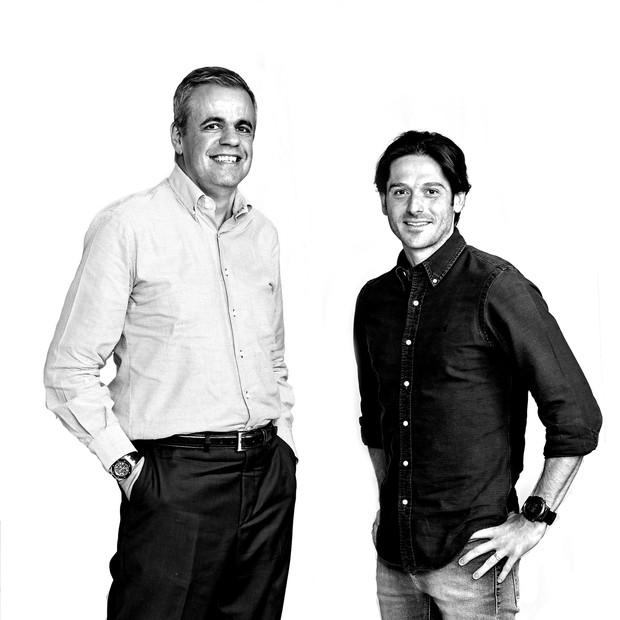 João Carlos Brega, da Whirlpool, e Rodrigo Galvão, da Oracle (Foto: Arthur Nobre/Época NEGÓCIOS)