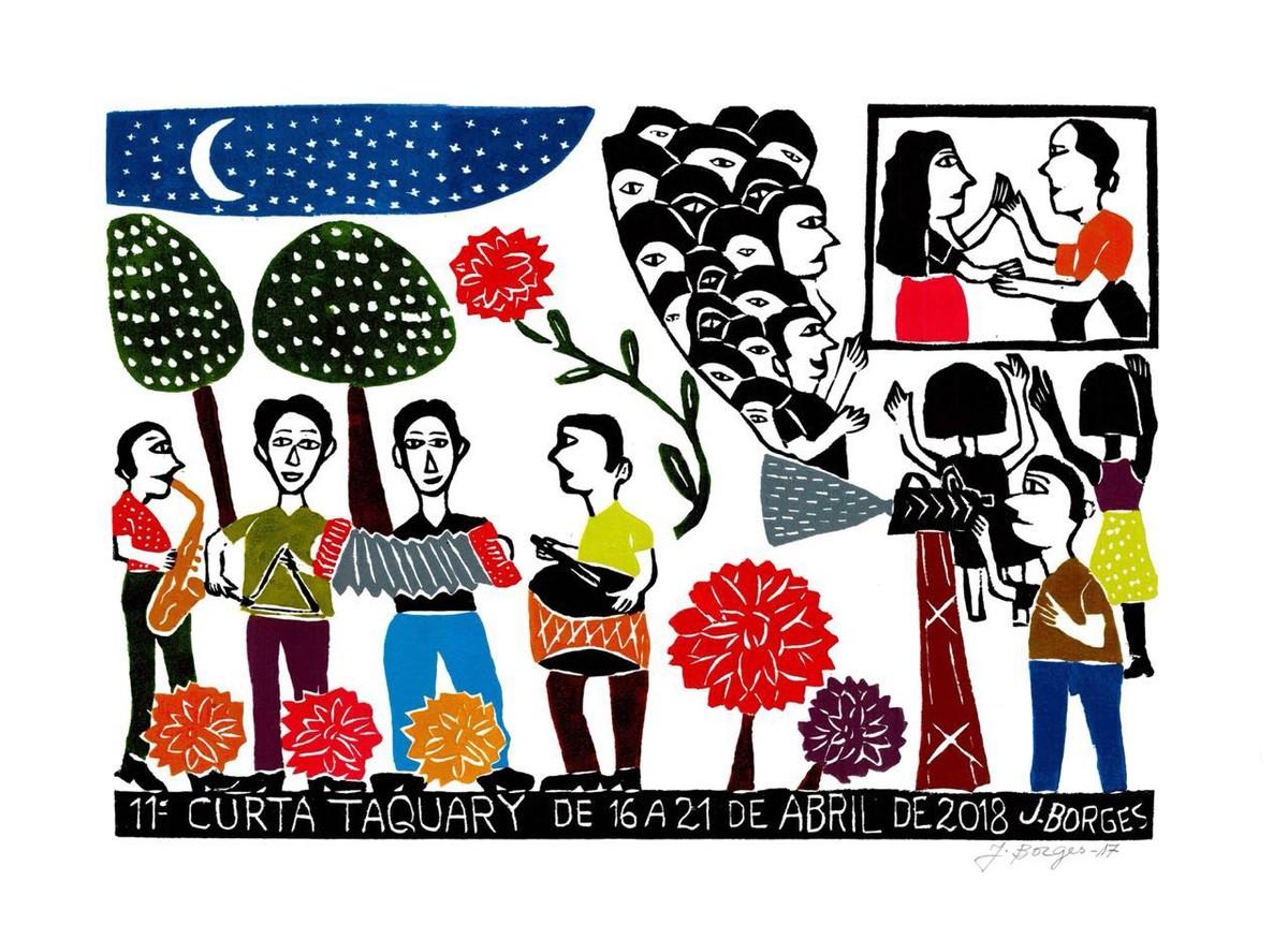 Inscrições abertas para 11ª edição do 'Curta Taquaty' em Taquaritinga do Norte
