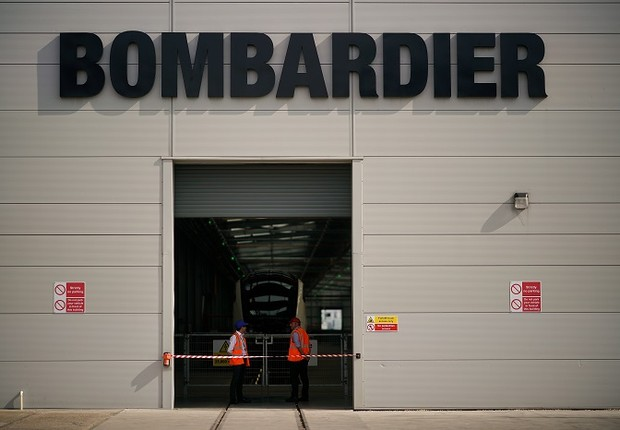 Edifício da Bombardier  (Foto: Christopher Furlong/Getty Images)