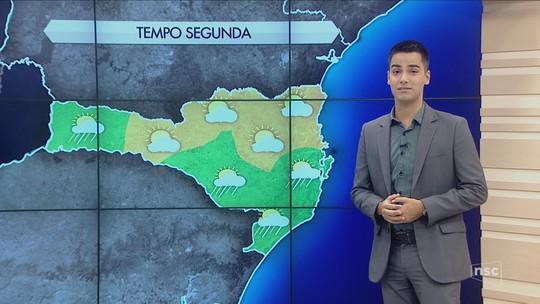 Segunda-feira é de sol e calor de até 30°C em Santa Catarina